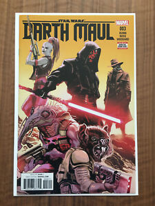 STAR WARS DARTH MAUL #3 1st app Cad Bane on cover VF+ Condition