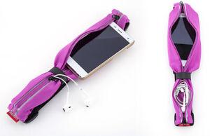 Workout Sport Belt Waistband Pouch Fitness Wear Running Gym Mobile חגורת מותן