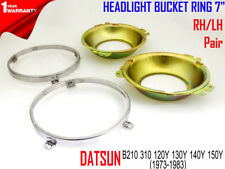 DATSUN B210 310 120Y 130Y 140Y 150Y 1973-1983 HEADLIGHT BRACKET FRAME SET 7""