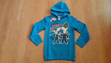 Phineas & Ferb Größe Gr 146 Pullover Hoodie dick Kapuze Sweatshirt blau cool NEU