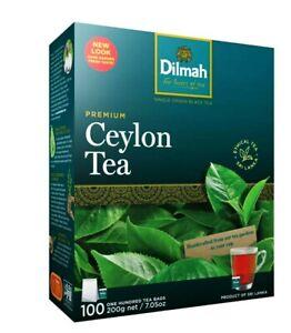 Dilmah Premium  Pure Ceylon Black Tea  in Tea Bags 100 pack /200g  natural teast