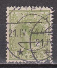 NVPH Netherlands Nederland 57 used CANCEL TIEL Wilhelmina 1899-1921