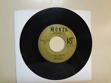 "MOXIES: I Feel Happy 1:50- I Must Apologize 2:30-U.S. 7"" Vinyl Monza RIC C- 1124"