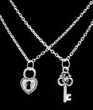 Necklace Set Lock And Key To My Heart Love His And Hers Couples Christmas Gift