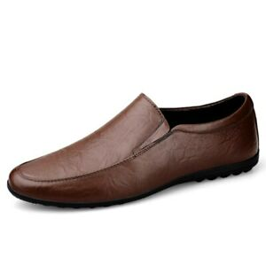 Leather Casual Shoes Men's Loafers Shoes Men Shoes Driving Shoes Slip on Shoes