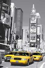 Fototapete TIMES SQUARE 115x175 cm Manhattan Yellow Cabs gelbeTaxis New York NYC