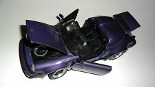 Porsche 911 Speedster in violett violet lila purple METALLIC, Maisto in 1:18!