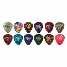 0.81 x 60 Pieces Coloured Guitar Picks 0.81mm Size Random Colour