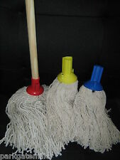 Traditional PY Yarn Push-Fit Mop and Wooden Handle Exel Fitting FREE P&P