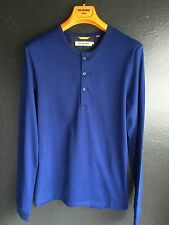 Ben Sherman Long Sleeve T Shirt, Blue Depths, Size S