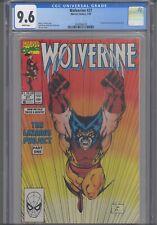 Wolverine #27 CGC 9.6 1990 Marvel Comics Karma & Jessica Drew App Jim Lee Cover