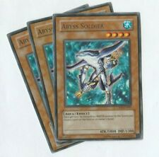 YUGIOH Abyss Soldier CP02-EN007 Rare  x3 cards Champion Pack 2