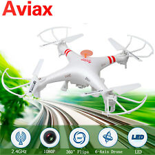 NEW RC Quadcopter With HD Camera, Drone Aircraft Selfie 2.4ghz & 6 Axis
