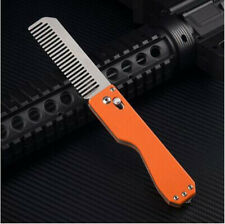 Multifunctional portable tactical defense comb & With tungsten head- EDC tool