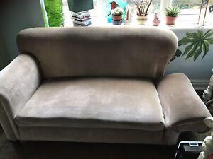antique drop arm sofa