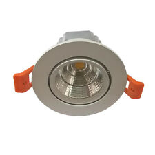 7W COB LED Ceiling Down Light Cabinet Recessed Fixture Spot Lamp Warm White