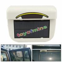 La energía solar de la ventana de coche Ventilador Ventilador Refrigerador
