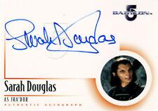 The Complete Babylon 5 Autograph A13 Sarah Douglas as Jha'Dur