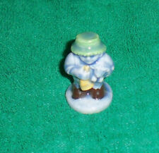 Wade figurines Nursery set # 2 2001 Tom Tom the Piper's son blue suit