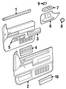 Genuine GM Armrest 15627856