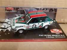 Fiat Ritmo Abarth Alitalia Rally Monte Carlo 1979 1/43 1 43 IXO MODELS 6%