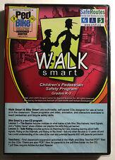 Walk Smart & Bike Smart Safety Programs Grades K-3 Cd-Rom 1999-2005 New!
