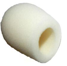 """Shure Prologue 12 14 WindTech replacement White Foam 1 3/8""""  Windscreen 5070-3W"""