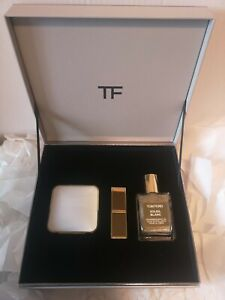 Tom Ford Soleil Gold & Shimmer Gift Set   Lip Blush, Body Oil & Highlighter BNIB