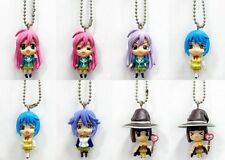 Rosario+Vampire Mascot Keychain Figure Normal + Rare Ver. Full Set of 8 + Sleeve