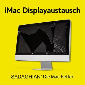 iMac Displayaustausch inkl. Einbau, Installation, Versand, MwSt
