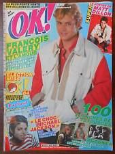 ►OK AGE TENDRE 422/1984 - VALERY - CAPDEVIELLE - MATT DILLON - MICHAEL JACKSON