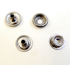 """Snap Fasteners, Stainless Steel, Dot Brand, Dura-Dot, 3/8"""" Line 24, 10 Piece Set"""