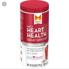Meta Daily Heart Health Dietary Supplement, 32 Servings Berry Smooth Exp 01/2018