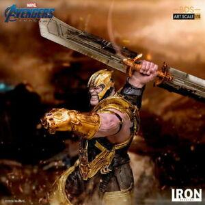 Thanos Statue 1/10 Iron Studios Avengers Endgame Figure Model Deluxe Ver.