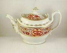 Antique 19thC Thomas Rose Coalport Bridged Spout Teapot circa 1805