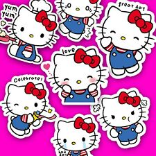 40 Hello Kitty Stickers - Kawaii Stickers, Journal Stickers, Sanrio Stickers