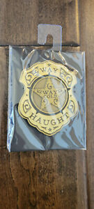 2020 IDW WYNONNA EARP LIMITED EDITION WAY HAUGHT WAY COLD BADGE PIN ON CARD