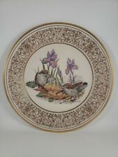 Lenox Boehm Annual Bird Plate Golden Crowned Kinglets 1979 24 kt Gold
