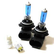 Lexus RX HB4 501 100w Super White Xenon HID Low/Slux LED Side Light Bulbs Set