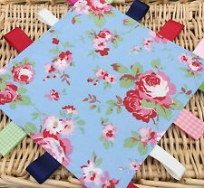 Taggy / Lovey Comforter  - Handmade  Cath Kidston Rosali Blue - Gorgeous!