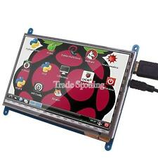 "SainSmart Capacitive 7"" TouchScreen TFT LCD Module HDMI 800x480 for Raspberry Pi"