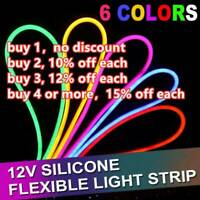 Colorful Outdoor Lighting Neon Light LED Strip Waterproof Silicone Tube