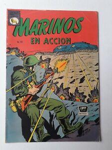 MARINES IN ACTION - MARINOS EN ACCIÓN#155 - ORIG. COMIC IN SPANISH - LA PRENSA
