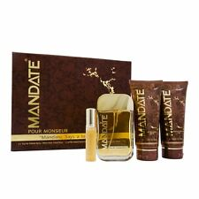 Mandate Eau de Toilette 100ml Spray Gift Set For Him Homme EDT Men