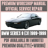 WORKSHOP MANUAL SERVICE & REPAIR GUIDE for BMW 8 SERIES E31 1989-1999 +WIRING