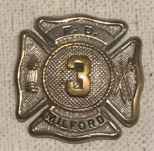 MILFORD FIRE DEPARTMENT BADGE