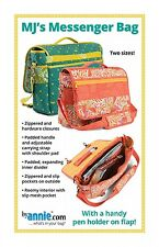MJ'S MESSENGER BAG SEWING PATTERN, from By Annie, *NEW*