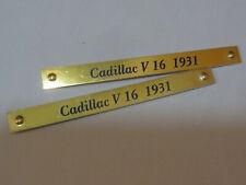 SOLIDO PIECES DETACHEES -ENJOLIVEUR DE BOITE CADILLAC V 16 1931 auto collant