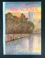 COVER ONLY ~ The New Yorker Magazine, April 25, 1977 ~ Charles E. Martin