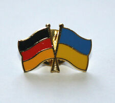 PIN BADGE CONCORD FRIENDSHIP COUNTRY UKRAINE AND GERMANY FLAG